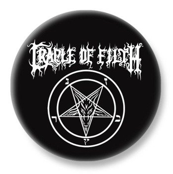 duży kapsel CRADLE OF FILTH - PENTAGRAM