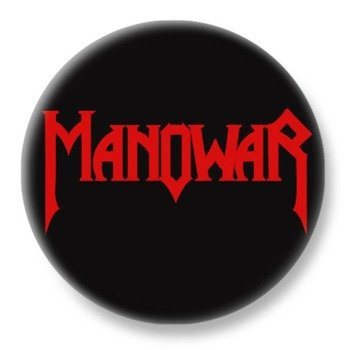 duży kapsel MANOWAR - RED LOGO
