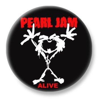 duży kapsel PEARL JAM - ALIVE