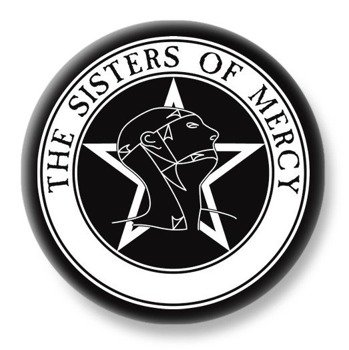 duży kapsel THE SISTERS OF MERCY
