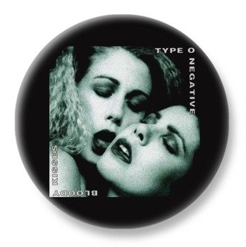 duży kapsel TYPE O NEGATIVE - BLOODY KISSES
