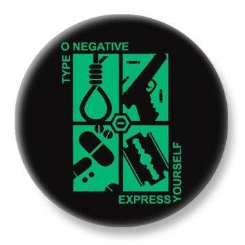 duży kapsel TYPE O NEGATIVE - EXPRESS YOURSELF