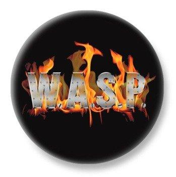 duży kapsel W.A.S.P.- FLAMING LOGO
