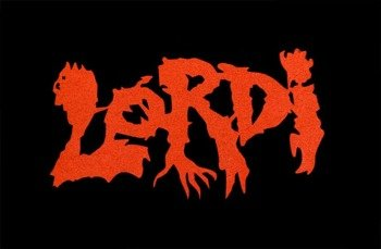 ekran LORDI - RED LOGO