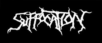 ekran SUFFOCATION - NEW WHITE LOGO
