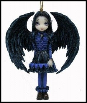 figurka JASMINE BECKET GRIFFITH - PURPLE PAPER HEART