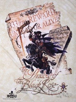 flaga FANTASY - SHADOW OF THE BLACK ROSE