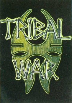 "flaga Soulfly ""Tribal War"""