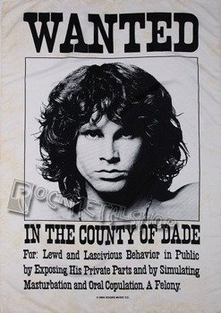 flaga THE DOORS - WANTED