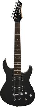 gitara elektryczna WASHBURN RX6-B black, rozmiar 3/4
