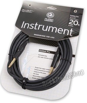 kabel gitarowy 6,10 m PLANET WAVES CUSTOM PRO jack prosty/prosty (PW-CPG-20)