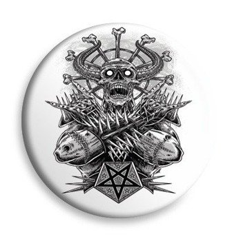 kapsel BLACK ICON - METAL DEMON (KICON089 WHITE)