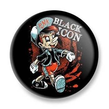 kapsel BLACK ICON - PINO PUNK (KICON125)