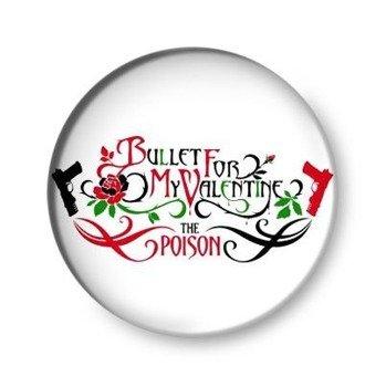 kapsel BULLET FOR MY VALENTINE - THE POISON biały