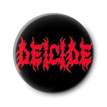 kapsel DEICIDE - RED LOGO