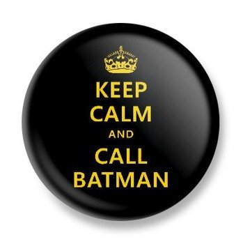 kapsel KEEP CALM AND CALL BATMAN Ø25mm