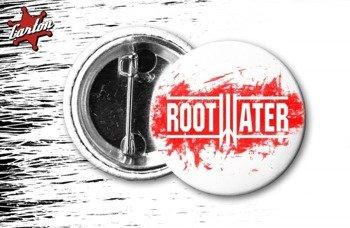 kapsel ROOTWATER - LOGO czerwone