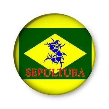 kapsel SEPULTURA - BRAZIL