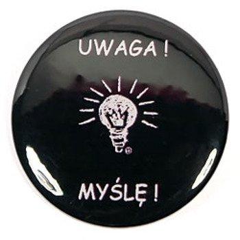 kapsel UWAGA! MYSLĘ! średni