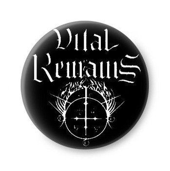 kapsel VITAL REMAINS - LOGO