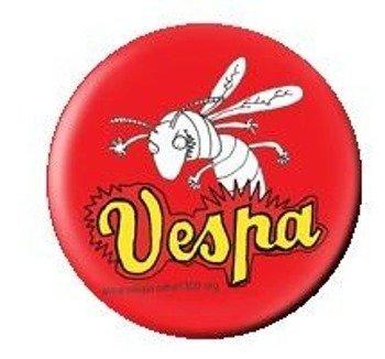 kapsel Vespa Czerwona