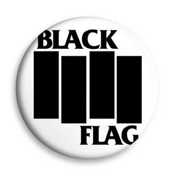 kapsel biały BLACK FLAG - LOGO