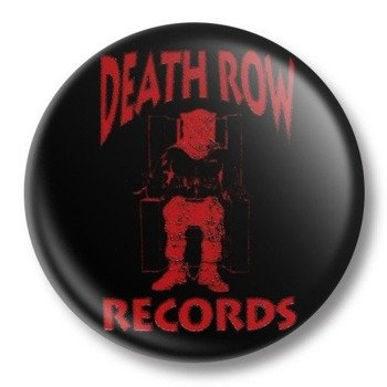 kapsel średni DEATH ROW RECORDS Ø38mm