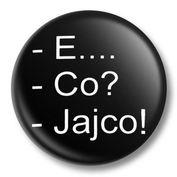 kapsel średni E... CO? JAJCO! Ø38mm