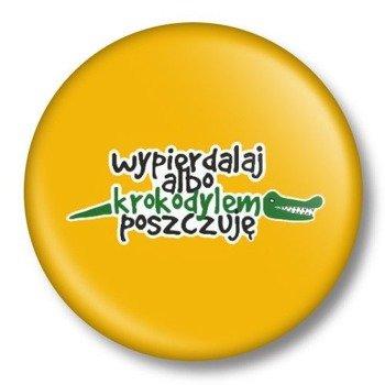 kapsel średni WYP... ALBO KROKODYLEM POSZCZUĘ Ø38mm