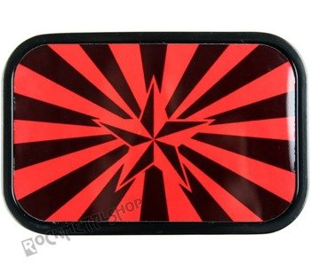 klamra do pasa STAR RED/BLACK