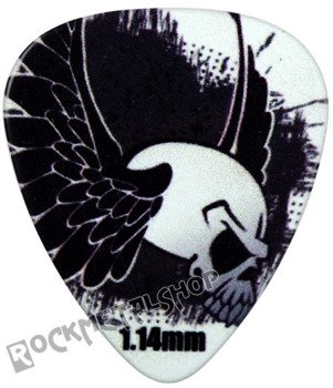 kostka gitarowa ROCK PICK - FLYING SKULLY