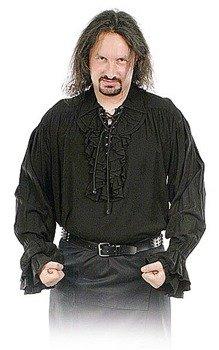 koszula GOTYCKA czarna (5777)