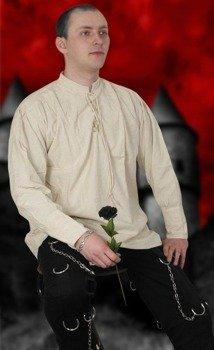 koszula GOTYCKA kremowa, lniana