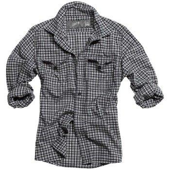 koszula WOOD CUTTER - BLACK CARO