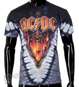 koszulka AC/DC - HELLS BELLS, barwiona