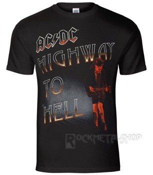 koszulka AC/DC - HIGHWAY TO HELL RED ANGUS