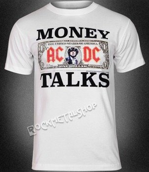 koszulka AC/DC - MONEY TALKS WHITE