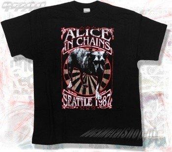 koszulka ALICE IN CHAINS - SEATTLE 1987