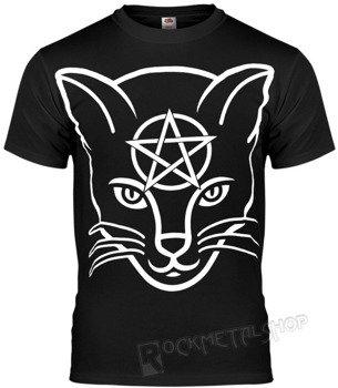 koszulka AMENOMEN - HEAD CAT (OMEN029KM BLACK)