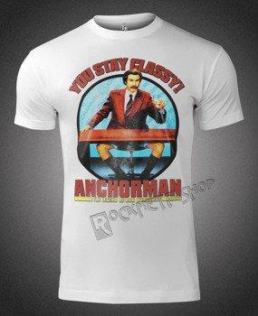 koszulka ANCHORMAN: THE LEGEND OF RON BURGUNDY - YOU STAY CLASSY