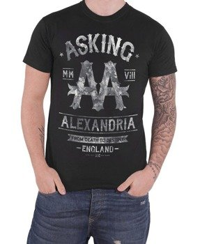 koszulka ASKING ALEXANDRIA - BLACK LABEL