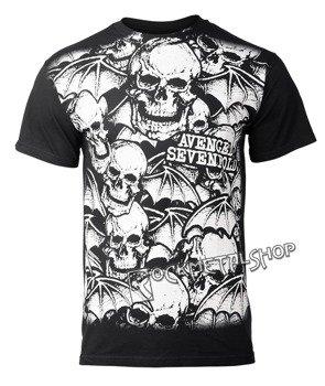 koszulka AVENGED SEVENFOLD - A/O WHITE DEATHBATS