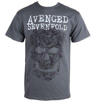 koszulka AVENGED SEVENFOLD - GREY SKULL