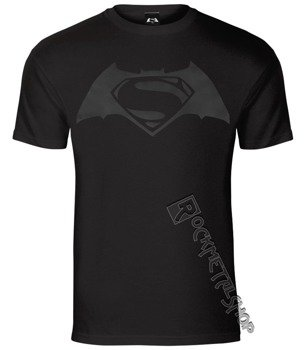 koszulka BATMAN V SUPERMAN: DAWN OF JUSTICE - BLACK ON BLACK