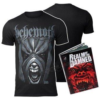 koszulka BEHEMOTH - REALM OF THE DAMNED (Koszulka + Książka)