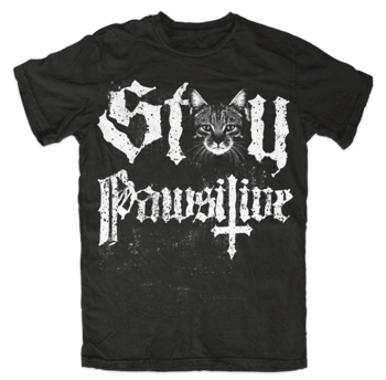 koszulka BLACK CRAFT - STAY PAWSITIVE