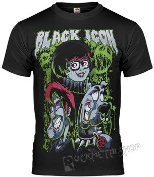 koszulka BLACK ICON - SCOOBY (MICON008 BLACK)