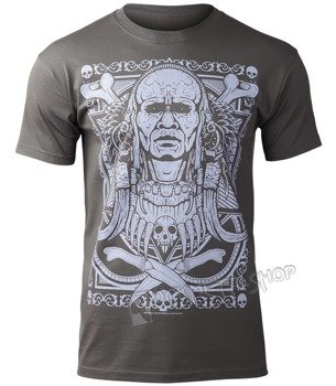 koszulka BLACK ICON - TRIBAL WARRIOR (MICON067 DARK GREY)