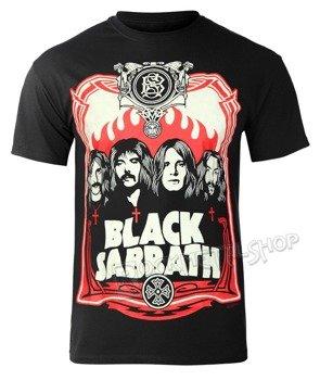 koszulka BLACK SABBATH - RED FLAMES