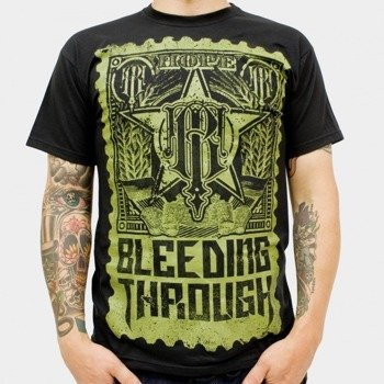 koszulka BLEEDING THROUGH - HOPE (BLACK)